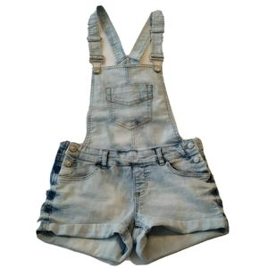 Mini Shortalls Overall Shorts 3 bibs light cuffed